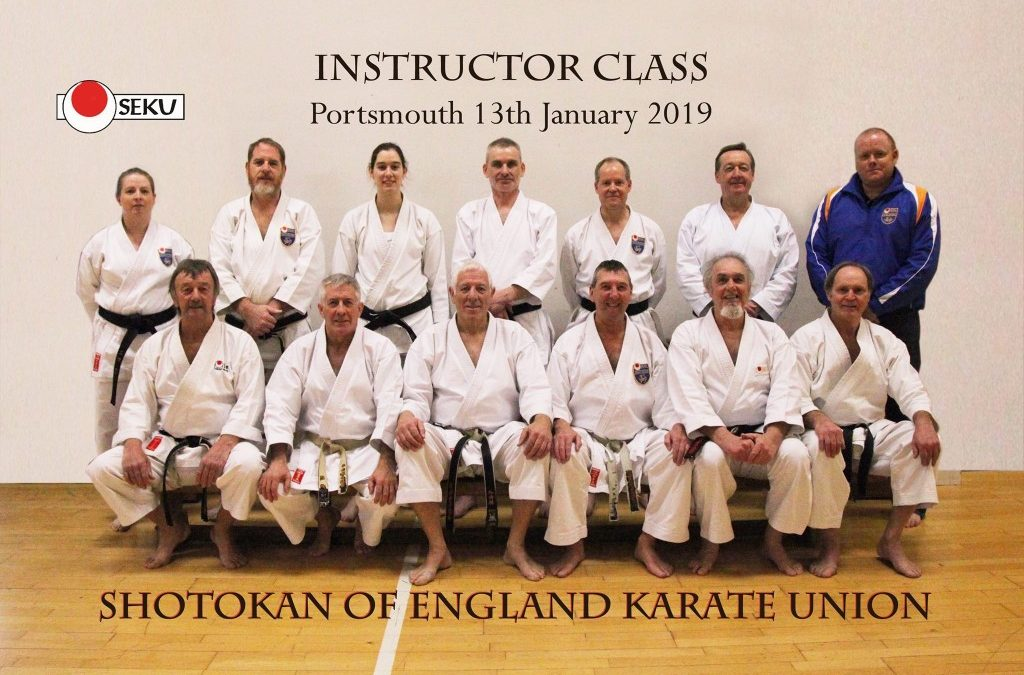 Great Start to Instructor Class 2019